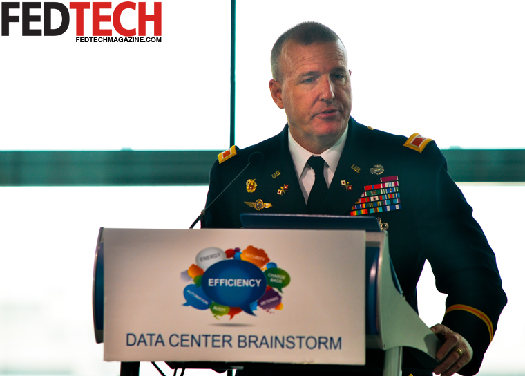 Col. Chris Miller at the Data Center Brainstorm