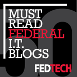 Federal Technology Blogger Badge 150px