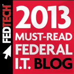 Federal Technology Blogger Badge