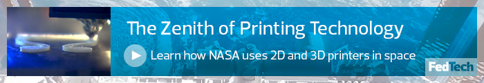 How NASA prints in space