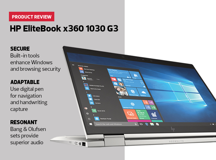 Product info on HP Elitebook