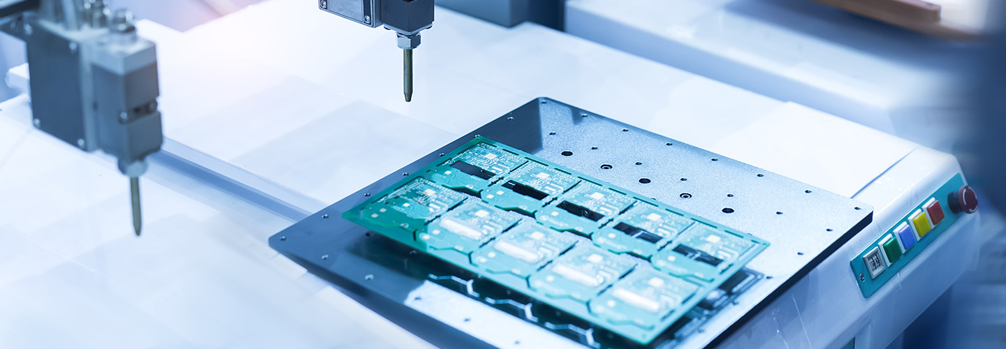 Chipsets being manufactured