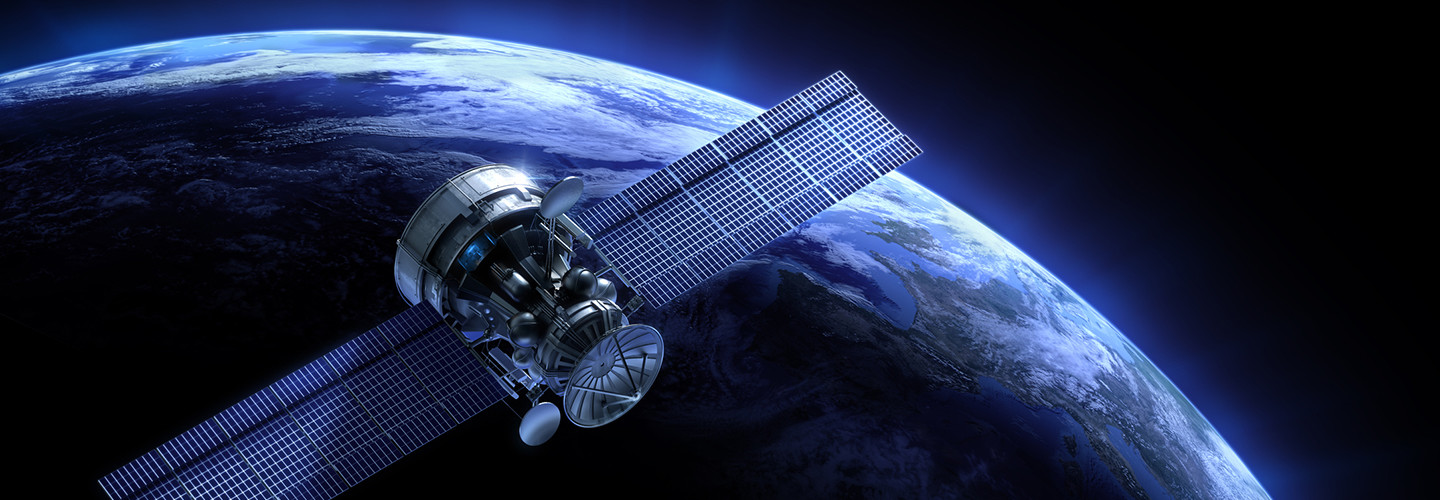 GPS satellite illustration