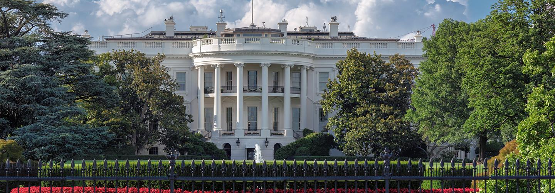 White House in summer