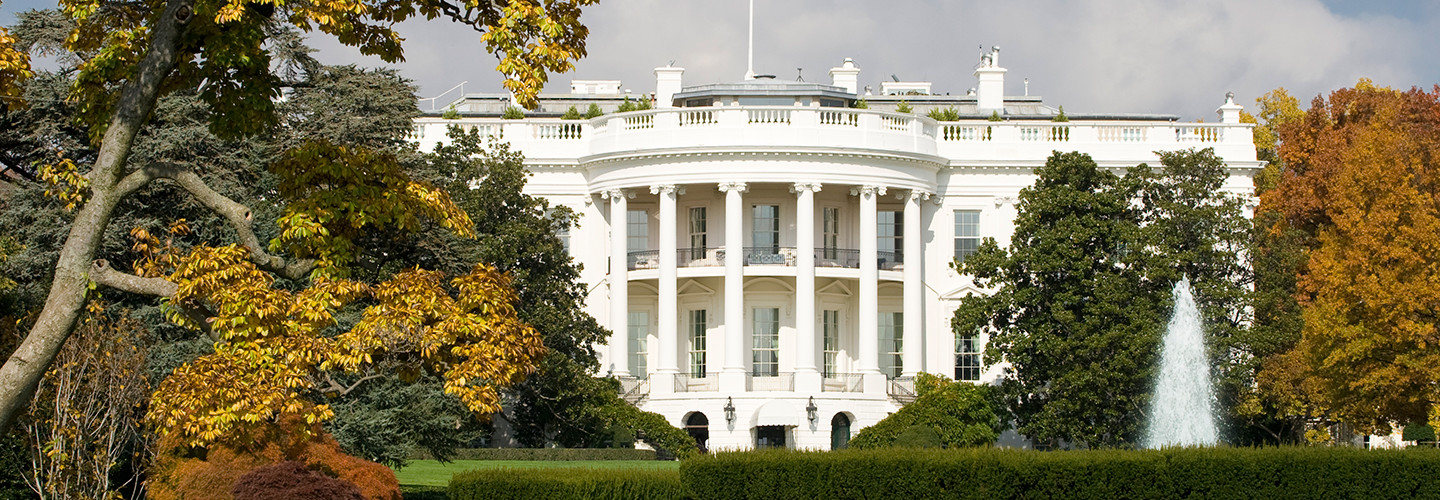 White House during the fall