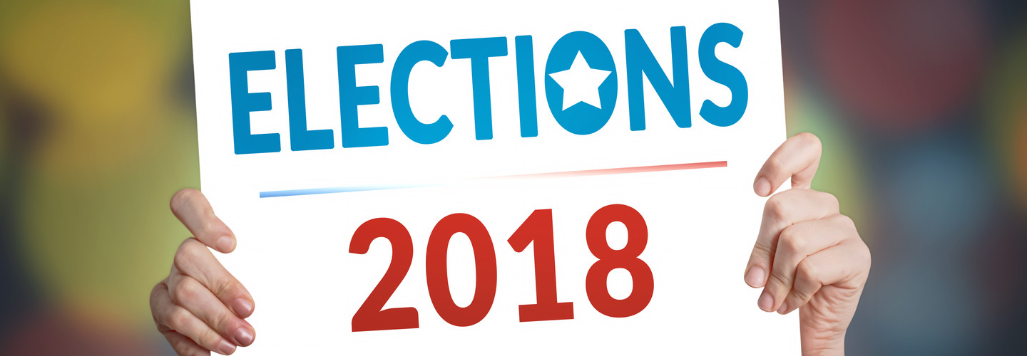 elections 2018 sign