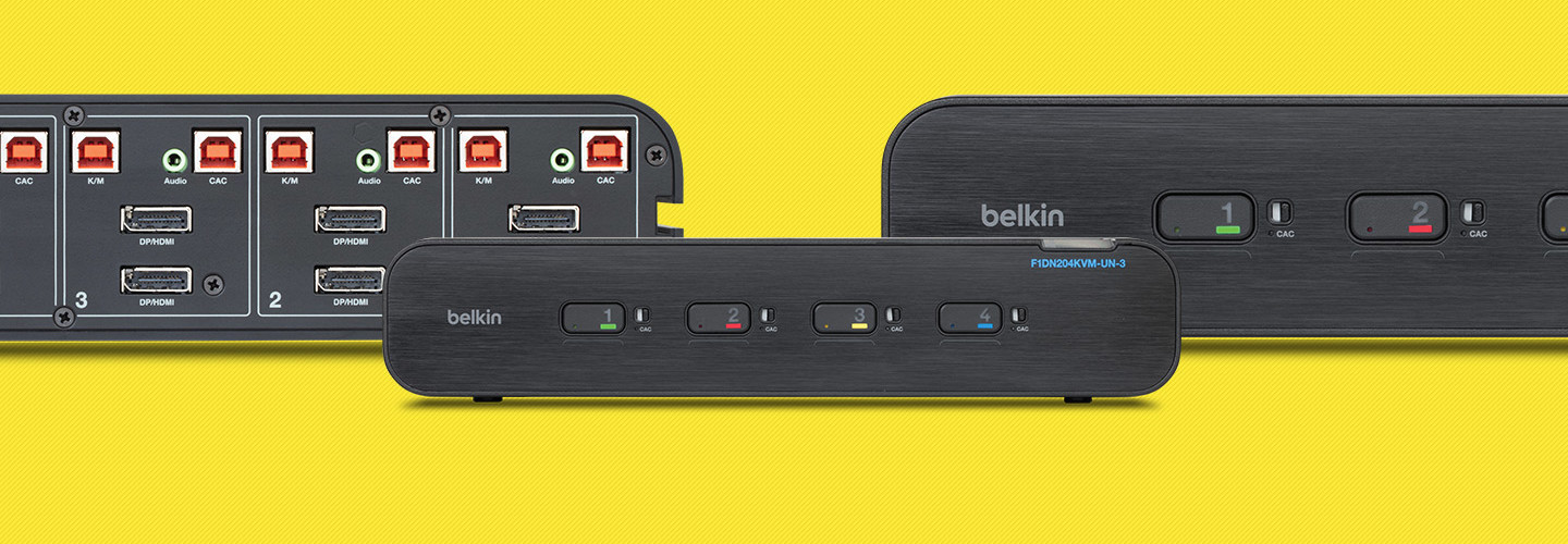 The Belkin Universal Secure KVM switch