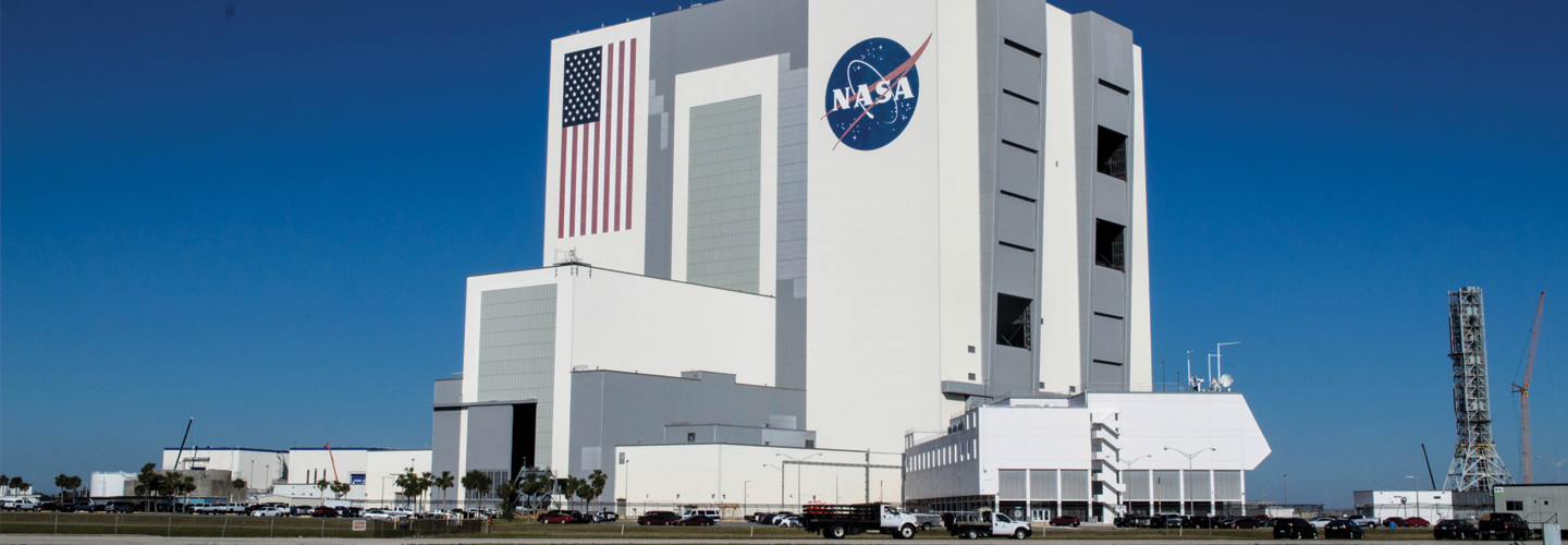 Vehicle Assembly Building at NASA Kennedy Space Center.