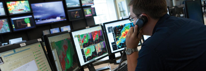 NOAA forecaster