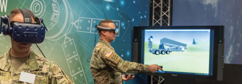 Army VR training