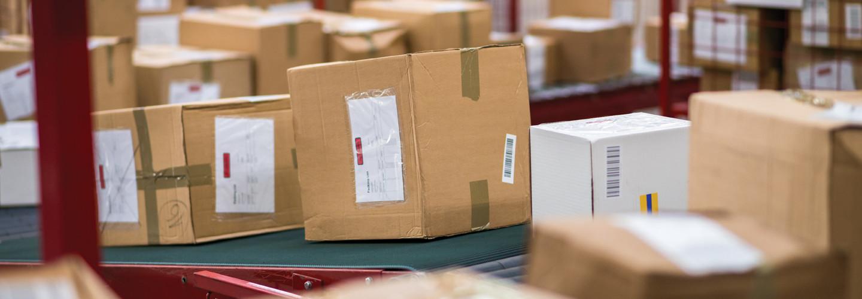 USPS package sorting