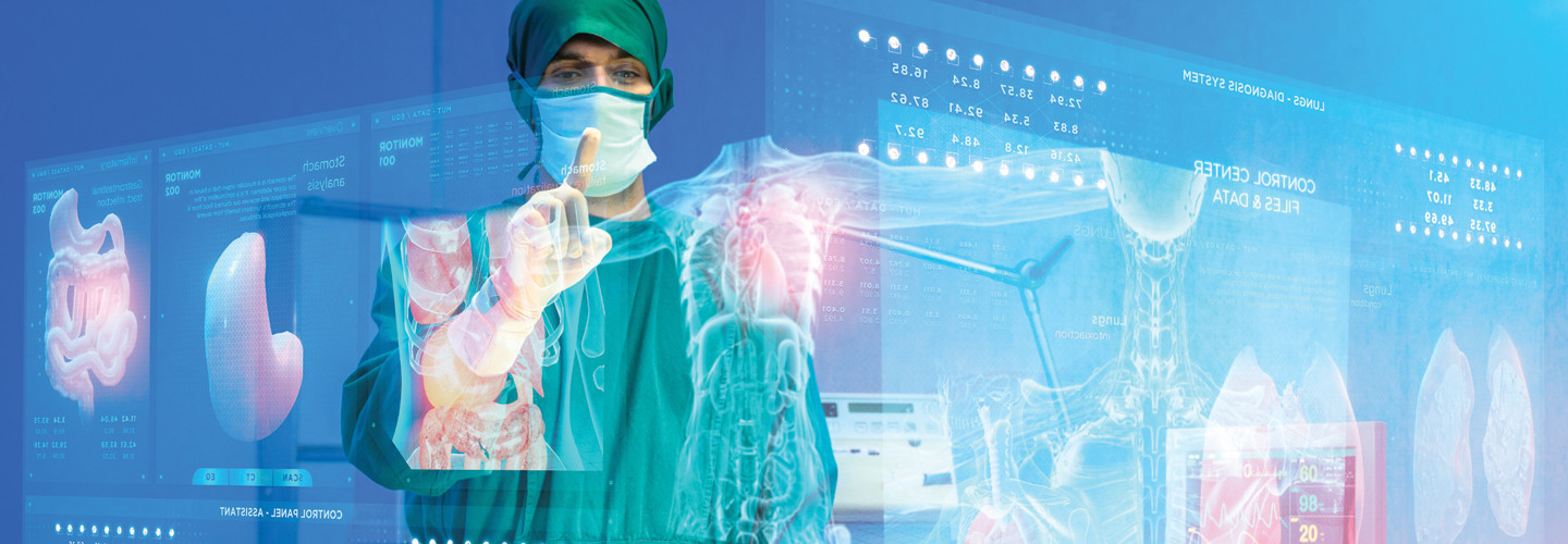 VA using augmented reality for surgery
