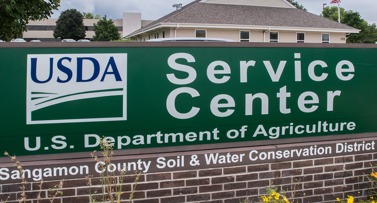 USDA Springfield Service Center that serves Sangamon County, in Springfield, IL