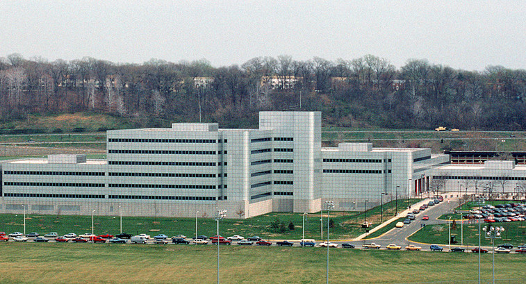 A view of the Defense Intelligence Agency headquarters n the premises of Joint Base Anacostia–Bolling in Washington, D.C.