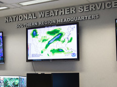 The National Weather Service manages agency security with Microsoft Active Directory.