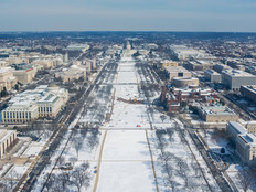 Washington, D.C., in winter
