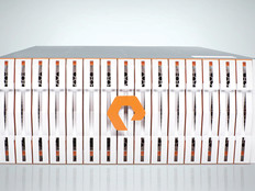 The Pure Storage FlashBlade system