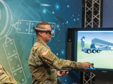 Army VR training