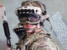 Augmented reality goggles in the Army